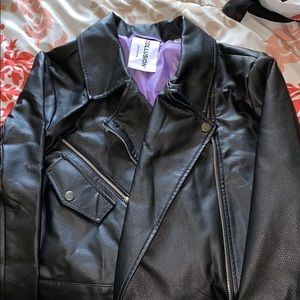 ASOS Black Leather Jacket